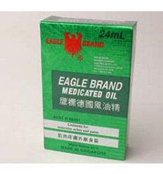 Eagle Brand Medicated Oil 24ml (EAGLE)